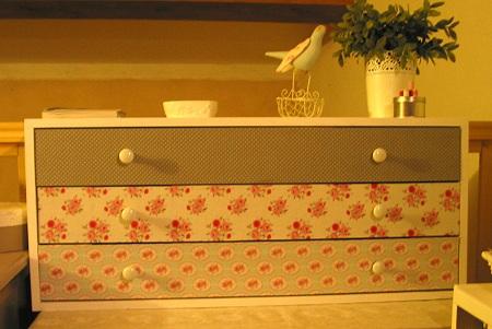 meuble à 3 tiroirs